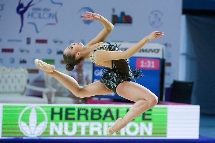 RITA MAMUN of Russia performs at 2016 European Championships at Holon, Israel on June 18, 2016.