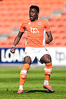 Blackpool's Bright Osayi-Samuel in action<br /> <br /> Photographer Richard Martin-Roberts/CameraSport<br /> <br /> The EFL Sky Bet League Two - Blackpool v Grimsby Town - Saturday 8th April 2017 - Bloomfield Road - Blackpool<br /> <br /> World Copyright &copy; 2017 CameraSport. All rights reserved. 43 Linden Ave. Countesthorpe. Leicester. England. LE8 5PG - Tel: +44 (0) 116 277 4147 - admin@camerasport.com - www.camerasport.com