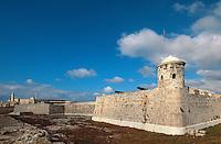 Cuba, Castillo de San Salvador de la Punta in Habana, Unesco-Weltkulturerbe