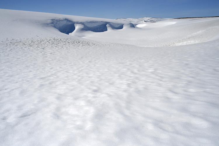 Snow-covered tundra - Arctic Norway