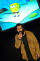 Adam Buxton comic ,performing at the Pleasance Theatre at the Edinburgh Festival 2005.CREDIT Geraint Lewis