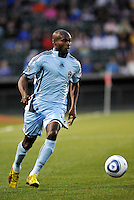 Omar Cummings...Kansas City Wizards defeated Colorado Rapids 1-0 at Community America Ballpark, Kansas City, Kansas.