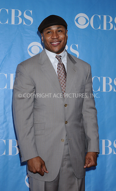 WWW.ACEPIXS.COM . . . . . ....May 20 2009, New York City....LL Cool J at the 2009 CBS Upfront at Terminal 5 in Manhattan on May 20, 2009 in New York City.....Please byline: AJ SOKALNER - ACEPIXS.COM.. . . . . . ..Ace Pictures, Inc:  ..tel: (212) 243 8787 or (646) 769 0430..e-mail: info@acepixs.com..web: http://www.acepixs.com