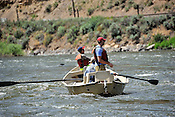 Fishermen & Women floating the Upper Colorado River fishing between Rancho Del Rio and State Bridge on July 28, 2014.