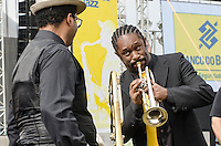 SÃO PAULO,SP, 18.06.2016 - SHOW-SP - Grupo Orleans Street Jazz Band durante apresentação na segunda edição do Festival BB Seguridade de Blues e Jazz, no Parque Villa Lobos em São Paulo, neste sábado, 18. (Foto: Bete Marques/Brazil Photo Press)