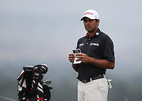 Gaganjeet Bhullar (IND) fell behind with a 74 during Round Three of The Tshwane Open 2014 at the Els (Copperleaf) Golf Club, City of Tshwane, Pretoria, South Africa. Picture:  David Lloyd / www.golffile.ie
