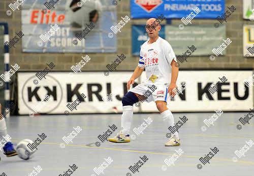 2012-09-01 / Futsal / seizoen 2012-2013 / Malle / Kurt Gessner..Foto: Mpics.be