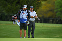 Graeme McDowell (NIR) looks over his putt on 1 during day 4 of the Valero Texas Open, at the TPC San Antonio Oaks Course, San Antonio, Texas, USA. 4/7/2019.<br /> Picture: Golffile | Ken Murray<br /> <br /> <br /> All photo usage must carry mandatory copyright credit (© Golffile | Ken Murray)