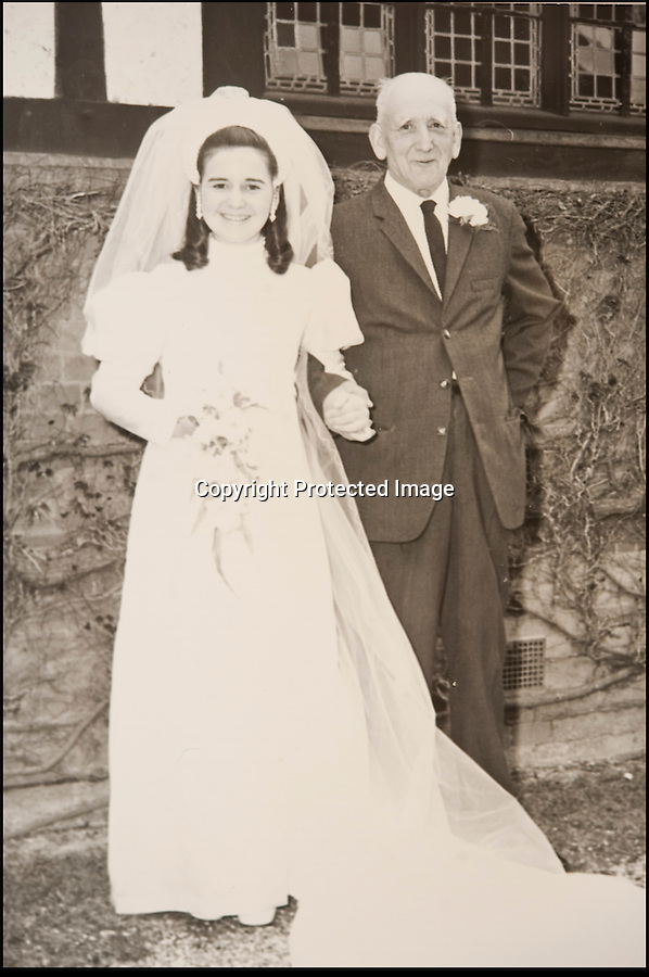 BNPS.co.uk (01202 558833)<br /> Pic: PhilYeomans/BNPS<br /> <br /> Modest hero James Angel at his daughter Sheila's wedding in 1973.<br /> <br /> A nine-year-old girl's school project has led her family to find her war hero great-grandfather's gallantry medal they knew nothing about.<br /> <br /> Elizabeth Turner asked her grandmother Sheila Scott for help with her homework on World War Two and was told about a late relative who fought in Europe.<br /> <br /> James Angel was a modest man who rarely spoke about his experiences of war, including<br /> winning the Military Medal for one incredibly heroic action.<br /> <br /> Sapper Angel put himself in the line of fire when Allied soldiers were pinned down by Germans as they tried to cross the Rhine in Germany in March 1945.<br /> <br /> With great risk to his own life, he drew enemy fire away from his comrades by engaging them with his Bren gun and allowed the British to locate and silence the Germans.<br /> <br /> It is believed that after the war Mr Angel sold his Military Medal to help provide for his seven children.<br /> <br /> His family knew he once had a 'special medal' but had no idea what it was or was for until Elizabeth began her school project two weeks ago.<br /> --