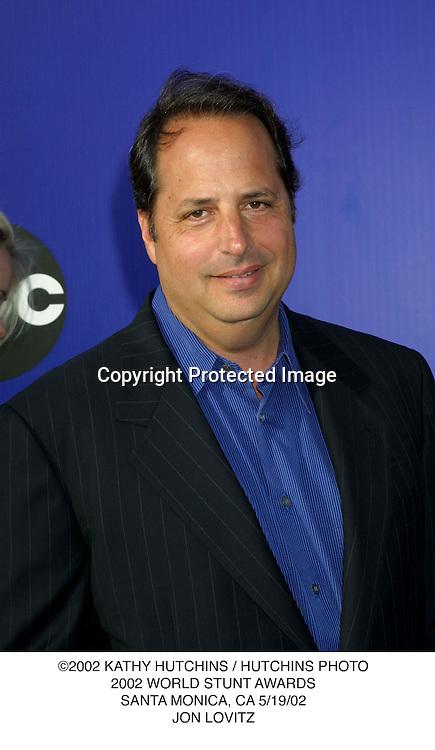 ©2002 KATHY HUTCHINS / HUTCHINS PHOTO.2002 WORLD STUNT AWARDS.SANTA MONICA, CA 5/19/02.JON LOVITZ