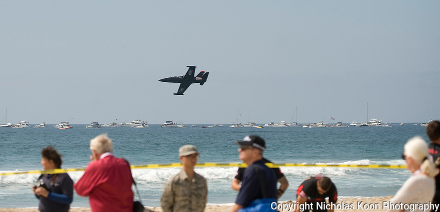 Breitling's second annual airshow at Huntington Beach, CA on 9/30/17.
