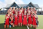 Silver finalists Christchurch Girls High. Federation Cup Hockey Finals, Lloyd Elsmore Park, Auckland, New Zealand, Saturday September 2019. Photo: Simon Watts/www.bwmedia.co.nz/HockeyNZ