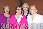 TEA DANCE: Enjoying themselves at the Tea Dance in aid of the Rose of Tralee Back to Basic on Sunday in the KDYS< Denny Street, Tralee L-r: Bridget Crean (castlegregory), Mary O'Flaherty (Tralee), Patsy Quirke (Derrymore) and Phil Gleeson.................. ..........