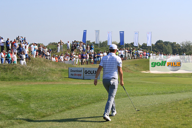 Bernd Wiesberger (AUT) walks down the 3rd fairway during Round 1 of the 2016 KLM Open at the Dutch Golf Club at Spijk in The Netherlands on Thursday 08/09/16.<br /> Picture: Thos Caffrey   Golffile
