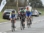 Drogheda Wheelers riders James McMorrow and Eoin Ferriter riding in the Coombes Connor Memorial race. Photo:Colin Bell/pressphotos.ie