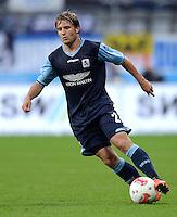 Fussball 2. Bundesliga:  Saison   2012/2013,    4. Spieltag  TSV 1860 Muenchen - MSV Duisburg    31.08.2012 Daniel Halfar (1860 Muenchen)