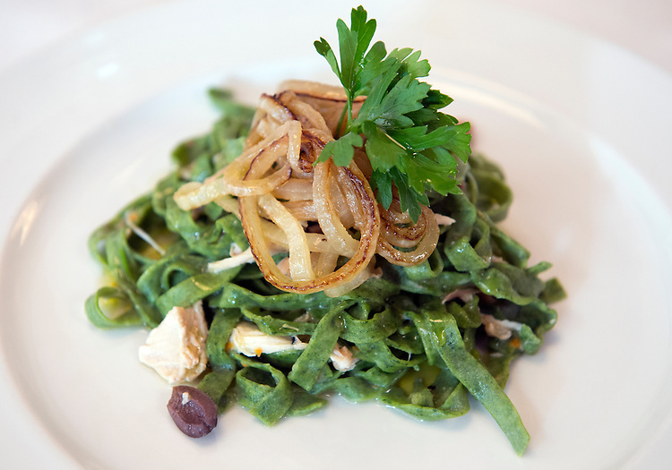UNITED STATES - JULY 18: Rabbit tagliatelle is pictured at Ninnella, located across from Lincoln Park on Capitol Hill. (Photo By Tom Williams/CQ Roll Call)