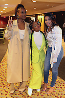"NEW YORK, NY - APRIL 6, 2019 Issa Rae, Marsai Martin & Regina Hall attend the NYC movie screening of ""Little"" at AMC 25 in New York City.     <br /> CAP/MPI/WG<br /> ©WG/MPI/Capital Pictures"