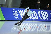 SPEEDSKATING: SALT LAKE CITY: 08-12-2017, Utah Olympic Oval, ISU World Cup, Mathias Vosté (BEL), ©photo Martin de Jong