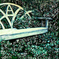 Come sit a while in this lovely garden bench for two. Enjoy the views and enjoy the company.<br />