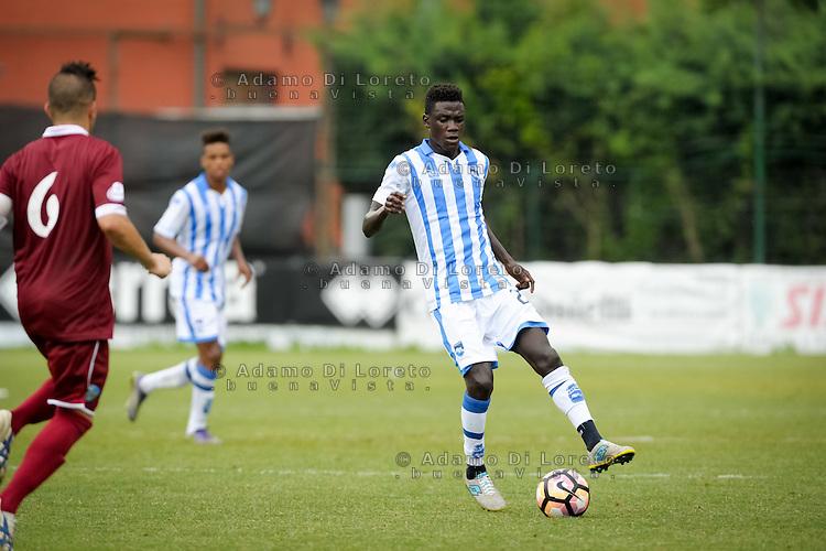 Selasi Ransford (Pescara) during the withdrawal preseason Serie A; match friendly between Pescara vs San Nicolò, on July 28, 2016. Photo: Adamo Di Loreto/BuenaVista*photo