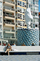 Belgien, Flandern, am Rubensplein (Rubensplatz) in Knokke