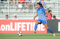 Boyds, MD - Saturday August 12, 2017:Katie Stengel during a regular season National Women's Soccer League (NWSL) match between the Washington Spirit and The Boston Breakers at Maureen Hendricks Field, Maryland SoccerPlex.