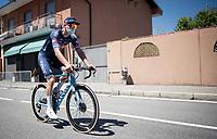 Mathieu Van der Poel (NED/Alpecin-Fenix) off to sign-on<br /> <br /> 101st Milano-Torino 2020 (UCI 1.Pro)<br /> 1 day race from Mesero to Stupinigi (198km)
