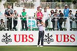 James Stewart of Hong Kong tees off the first hole during the 58th UBS Hong Kong Golf Open as part of the European Tour on 08 December 2016, at the Hong Kong Golf Club, Fanling, Hong Kong, China. Photo by Marcio Rodrigo Machado / Power Sport Images