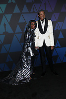 LOS ANGELES - NOV 18:  Cicely Tyson, B Michael at the 10th Annual Governors Awards at the Ray Dolby Ballroom on November 18, 2018 in Los Angeles, CA
