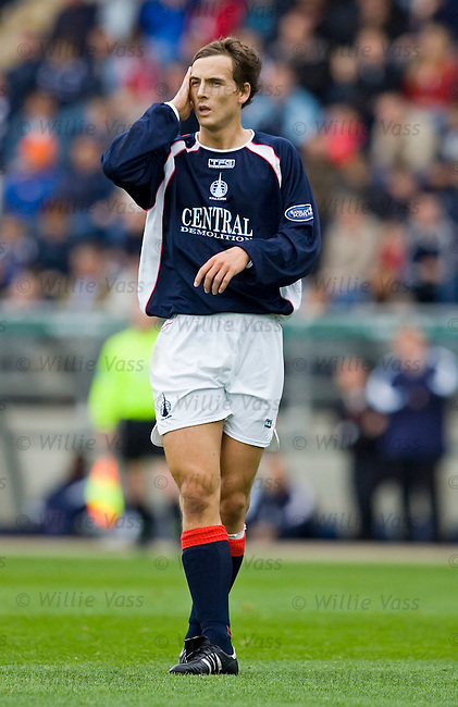 Alan Gow, Falkirk.stock season 2005-2006.pic willie vass
