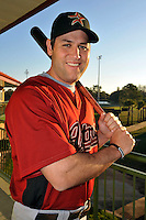 Feb 25, 2010; Kissimmee, FL, USA; The Houston Astros infielder Lance Berkman (17) during photoday at Osceola County Stadium. Mandatory Credit: Tomasso De Rosa/Four Seam Images