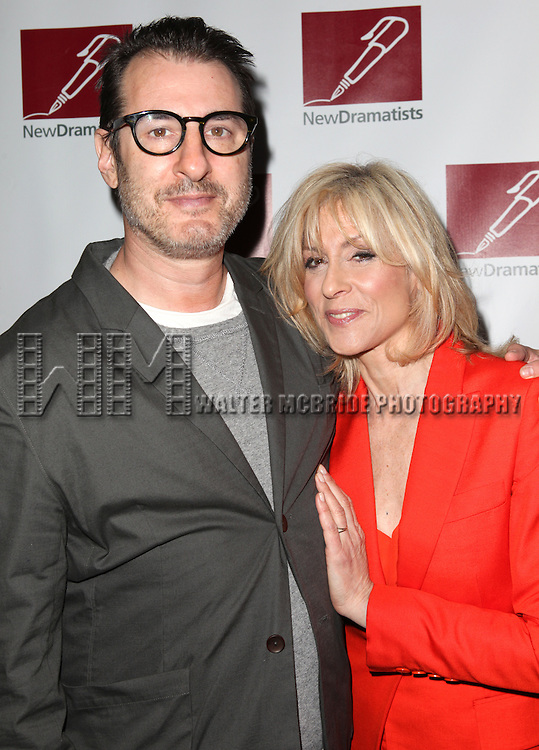 Jon Robin Baitz & Judith Light.attending the New Dramatists 63rd Annual Spring Luncheon to Honor Bernadette Peters at the Marriott Marquis Hotel in New York City on 5/24/2012 © Walter McBride/WM Photography .