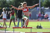 ATLETIEK: HEERENVEEN: 19-09-2015, Athletics Champs AV Heerenveen, Marije Brouwer (#70 | 11 jaar), ©foto Martin de Jong