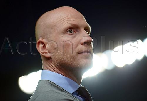30.08.2013. Prague, Czech Republic.   UEFA Supercup 2013 FC Bayern Munich versus Chelsea.   Matthias Sammer Sports manager Board for  FC Bavaria Munich