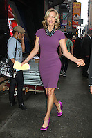 May 16, 2012 Lara Spencer host of Good Morning America in New York City. Credit: RW/MediaPunch Inc.