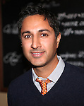 Maulik Pancholy attending the Opening Night Performance After Party for 'The Whale' at West Bank Cafe in New York City on 11/05/2012