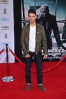 "Jean-Luc Bilodeau<br /> at the ""Captain America: The Winter Soldier"" Los Angeles Premiere, El Capitan, Hollywood, CA 03-13-14<br /> David Edwards/DailyCeleb.com 818-249-4998"