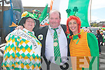 Bridie O'Connor and Liz O'Connor with the Lord Mayor of Killorglin Paudie Cronin at the Killorglin St Patrick's Day parade on Saturday...