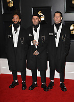 LOS ANGELES, CA - FEBRUARY 10: The Fever 333 at the 61st Annual Grammy Awards at the Staples Center in Los Angeles, California on February 10, 2019. Credit: Faye Sadou/MediaPunch