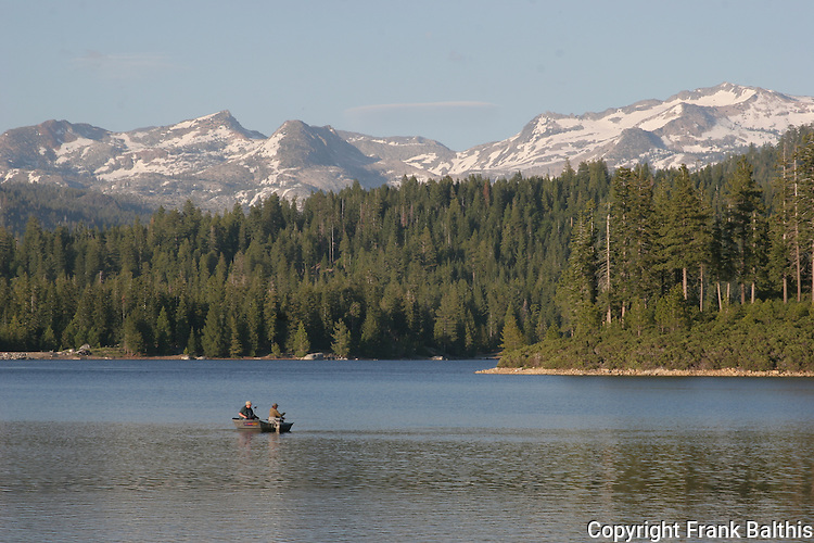 Fishermen at Ice House Reservoir