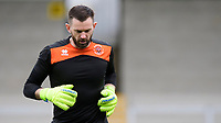 Blackpool's Mark Howard during the pre-match warm-up<br /> <br /> Photographer Chris Vaughan/CameraSport<br /> <br /> The EFL Sky Bet League One - Burton Albion v Blackpool - Saturday 16th March 2019 - Pirelli Stadium - Burton upon Trent<br /> <br /> World Copyright &copy; 2019 CameraSport. All rights reserved. 43 Linden Ave. Countesthorpe. Leicester. England. LE8 5PG - Tel: +44 (0) 116 277 4147 - admin@camerasport.com - www.camerasport.com
