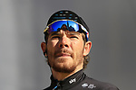 Luke Rowe (WAL) Team Sky on stage at sign on before the 101st edition of the Tour of Flanders 2017 running 261km from Antwerp to Oudenaarde, Flanders, Belgium. 26th March 2017.<br /> Picture: Eoin Clarke | Cyclefile<br /> <br /> <br /> All photos usage must carry mandatory copyright credit (&copy; Cyclefile | Eoin Clarke)