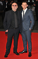 Peter Turner and Jamie Bell at the &quot;Film Stars Don't Die in Liverpool&quot; 61st BFI LFF Mayfair Hotel gala, Odeon Leicester Square, Leicester Square, London, England, UK, on Wednesday 11 October 2017.<br /> CAP/CAN<br /> &copy;CAN/Capital Pictures