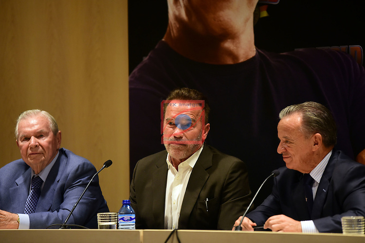 Arnold Classic Europe 2016.<br /> Arnold Schwarzenegger &amp; Rafael Santonja.