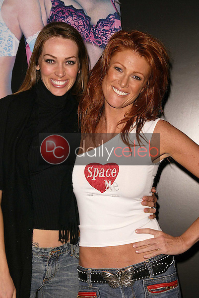 Didiayer Leworthy and Angie Everhart