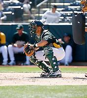 Joel Galarraga - Oakland Athletics - 2009 spring training.Photo by:  Bill Mitchell/Four Seam Images