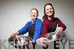 "2nd year student Patricia Murphy from Colaiste Ide agus Iosef, Abbeyfeale who is a finalist in this years national cookery competition ""Take Away My Way"".  The finals take place on the 8th May in Sligo with celebrity chef Nevin McGuire as head judge, pictured here with Home Economics teacher Karen Meade last Monday in Abbeyfeale."