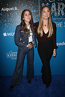 WEST HOLLYWOOD, CA - AUGUST 7: Alana Haim, Este Haim, at the Carpool Karaoke: The Series on Apple Music Launch Party at Chateau Marmont in West Hollywood, California on August 7, 2017. <br /> CAP/MPI/FS<br /> &copy;FS/MPI/Capital Pictures