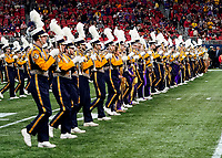ATLANTA, GA - DECEMBER 7: LSU Marching Band during a game between Georgia Bulldogs and LSU Tigers at Mercedes Benz Stadium on December 7, 2019 in Atlanta, Georgia.
